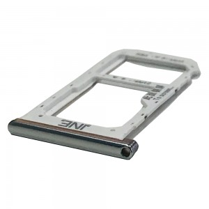 Huawei P Smart Plus 2019 - Sim Tray Holder Silver