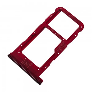 Huawei P Smart Plus 2019 - Sim Tray Holder Red