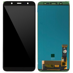 Samsung Galaxy J8 J810F - Full Front LCD Digitizer With Frame Black