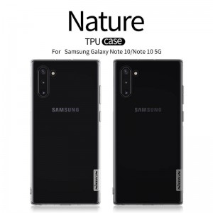 Samsung Galaxy Note 10 N970 - Nillkin Nature TPU Case 0.6mm
