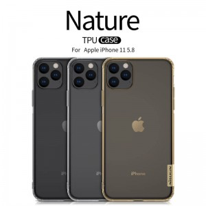 iPhone 11 Pro Max - Nillkin Nature TPU Case 0.6mm