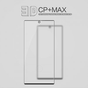 Samsung Galaxy Note 10 N970 - NillKin 3D CP+ Max Full Coverage Anti-explosion Tempered Glass