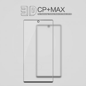 Samsung Galaxy Note 10+ N975 - NillKin 3D CP+ Max Full Coverage Anti-explosion Tempered Glass