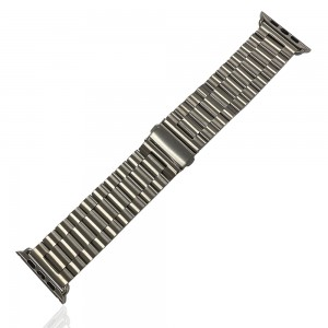 iWatch 42mm / 44mm - Stainless Steal Strap Silver