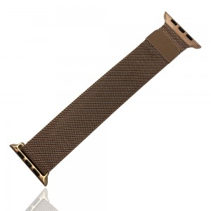 iWatch 42mm / 44mm - Stainless Steal Milanese Loop Pink Gold